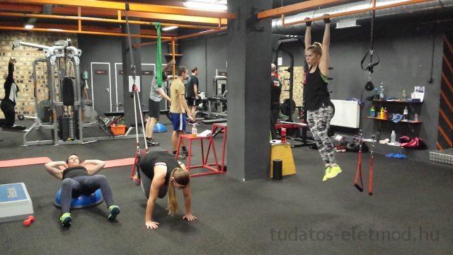 Pillantsunk be Dóri személyi edzésére
