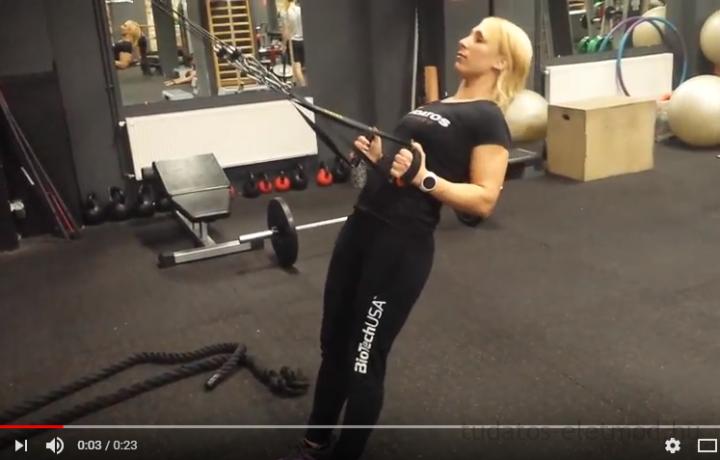 Hát-tricepsz edzés GFlexszel